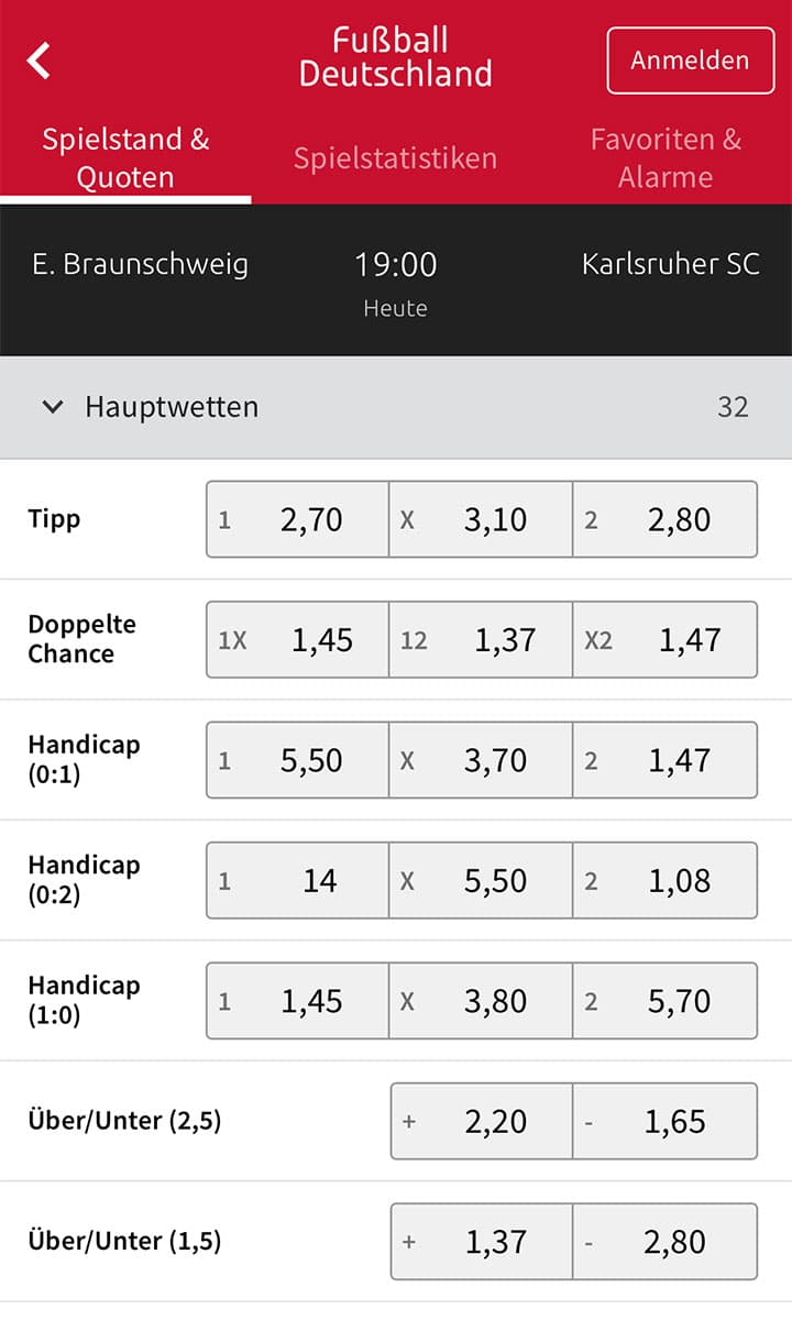 Tipico sportwetten fixed matches