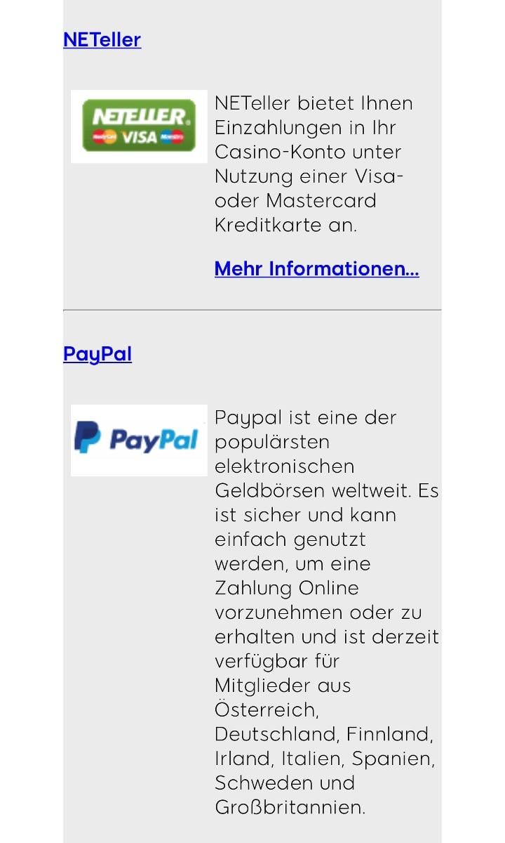 888Sport App PayPal